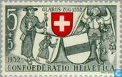 Postage Stamps - Switzerland [CHE] - Weapon of Glarus
