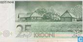Billets de banque - Eesti Pank - Estonie 25 Krooni