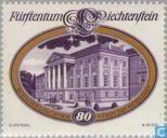Timbres-poste - Liechtenstein - Châteaux
