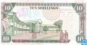 Billets de banque - Banki Kuu Ya Kenya - Kenya Shilling 10