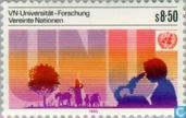 Briefmarken - Vereinte Nationen - Wien - Universität UNO
