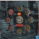 """Monnaies - Belgique - Belgique coffret 2003 """"50 years of Television"""""""