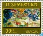 Timbres-poste - Luxembourg - Europe – Art contemporain