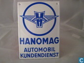 Emaille Bord : Hanomag