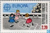 Postage Stamps - France [FRA] - Europe – Children's games
