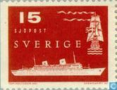 Postage Stamps - Sweden [SWE] - Marine and helicopter post