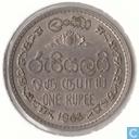 Ceylon 1 Rupie 1963