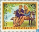 Postage Stamps - Austria [AUT] - International year of older persons