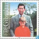 Postage Stamps - Gibraltar - Prins William - 18e verjaardag