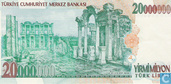 Banknoten  - Türkei - 7th Emission - Türkei 20 Millionen Lira 2001 (L1970)