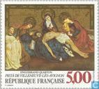 Postage Stamps - France [FRA] - Pieta