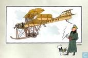 """Comic Books - Kuifjesbon producten - Chromo's """"Vliegtuigen oorsp. tot 1700"""" 41"""
