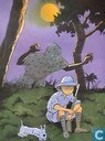 Affiches et posters - Bandes dessinées - VERKEERDE RUBRIEK --> STRIP-EXLIBRIS/PRENT Hommage à Hergé - Congo