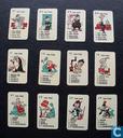 Board games - Happy Families - Tom Poes minikwartetspel met insteekkaart