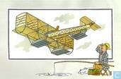 """Comics - Kuifjesbon producten - Chromo's """"Vliegtuigen oorsp. tot 1700"""" 42"""