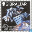 Postzegels - Gibraltar - 125 jaar U.P.U.