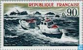 Postage Stamps - France [FRA] - Rescue at sea