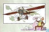 """Comics - Kuifjesbon producten - Chromo's """"Vliegtuigen oorsp. tot 1700"""" 43"""