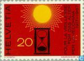 Postage Stamps - Switzerland [CHE] - Sun and sand run