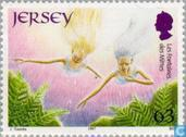 Postage Stamps - Jersey - Europe – Tales and legends