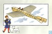 """Strips - Kuifjesbon producten - Chromo's """"Vliegtuigen oorsp. tot 1700"""" 44"""