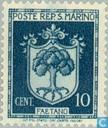 Timbres-poste - Saint-Marin - Héraldique