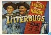 Postcards - Film: Laurel & Hardy - Jitterbugs