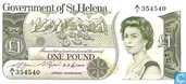 St. Helena 1 Pound ND (1981)