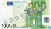 Eurozone 100 Euro (Specimen)