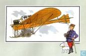 """Comics - Kuifjesbon producten - Chromo's """"Vliegtuigen oorsp. tot 1700"""" 46"""
