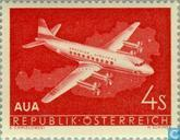 """Premier vol """"Austrian Airlines"""""""