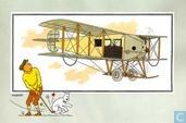 """Strips - Kuifjesbon producten - Chromo's """"Vliegtuigen oorsp. tot 1700"""" 47"""