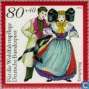 Postage Stamps - Germany, Federal Republic [DEU] - Folk Costumes