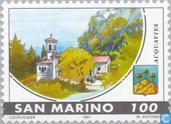 Postzegels - San Marino - Gemeenten