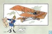 """Comics - Kuifjesbon producten - Chromo's """"Vliegtuigen oorsp. tot 1700"""" 48"""