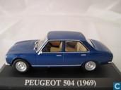 Voitures miniatures - Altaya - Peugeot 504