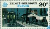 Briefmarken - Belgien [BEL] - Europa – Der menschliche Geist