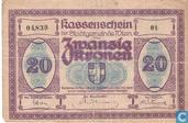 Wien 20 Kronen 1918