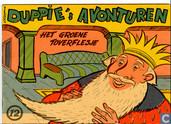 Strips - Duppie's avonturen - Het groene toverflesje