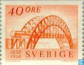 Timbres-poste - Suède [SWE] - chemins de fer de 100 ans