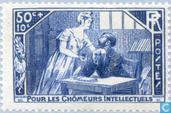 Postage Stamps - France [FRA] - Intellectual unemployed