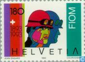 Postage Stamps - Switzerland [CHE] - IMB 100 years