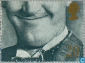 Postage Stamps - Great Britain [GBR] - Smiling faces