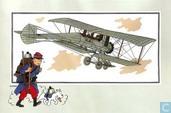 """Comics - Kuifjesbon producten - Chromo's """"Vliegtuigen oorsp. tot 1700"""" 53"""