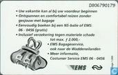 Cartes téléphoniques - PTT Telecom - EMS Bagageservice