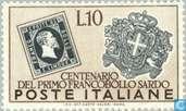 Sardaigne anniversaire Stamp
