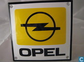 Emaille borden - Logo : Opel - Emaille bord : Opel