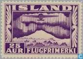 Postage Stamps - Iceland - 25 violet