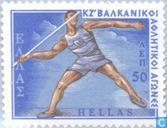 Postzegels - Griekenland - Sport