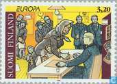 Postage Stamps - Finland - Europe – Famous women